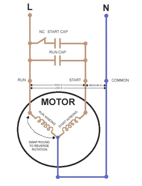 Compressor Wiring Diagram For Capacitor by Godrej Refrigerator Compressor Wiring Diagram Fridge