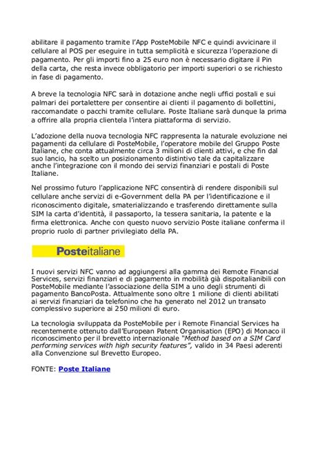 Elenco Uffici Postali Torino by Poste Mobileinnovativosistemacontactless