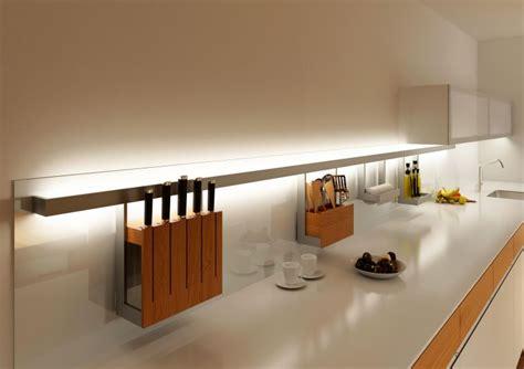 bande led cuisine éclairage indirect idées luminaire ambiance pour l