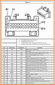 2004 Chevy Cavalier Radio Wiring Harness Diagram