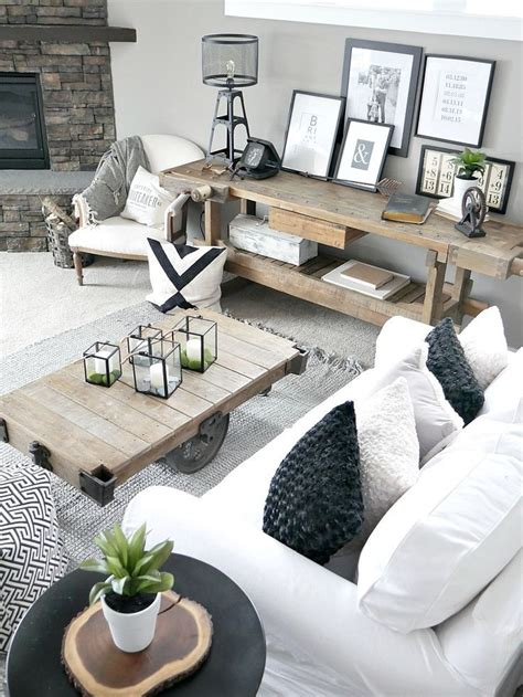 Modern Rustic Living Room Design Ideas by Bringing The Outdoors In Easy Home Decor Ideas Modern