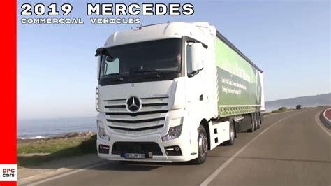 mercedes commercial van truck vehicles lineup youtube