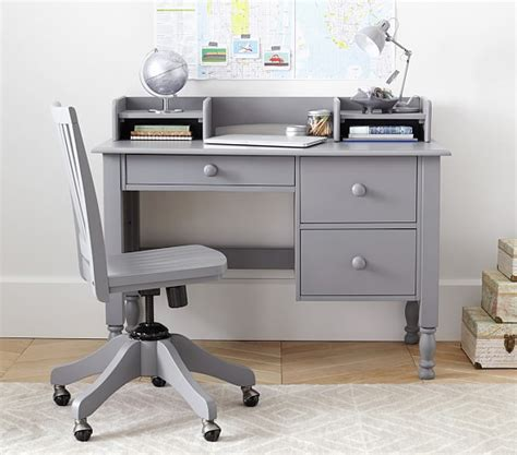 kids desk with hutch catalina storage desk low hutch pottery barn kids
