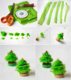 how to make mini christmas tree step by step diy tutorial instructions how to how to do diy