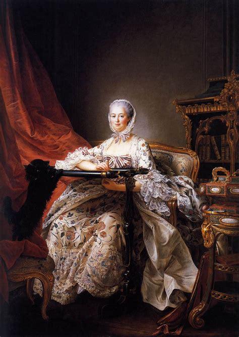 portrait of marquise de pompadour madame de pompadour by drouais franois hubert