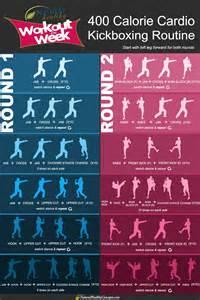 Cardio Kickboxing Workout Routine