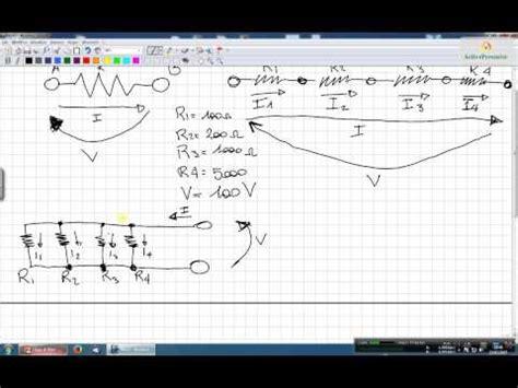 elettrotecnica dispense esercizi di elettrotecnica resistenze serie e parallelo