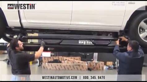 Westin   Installation of Westin GenX Step bars (2014 Dodge