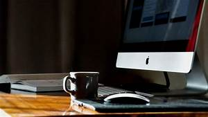 Free, Images, Desk, Notebook, Writing, Work, Coffee, Home, Cup, Workspace, Cozy, Imac, Design
