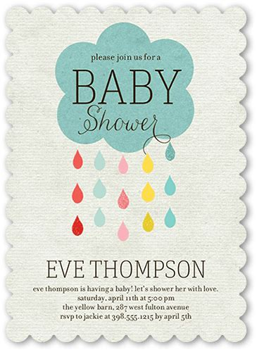 Drop In Baby Shower - seven things to include on your baby shower invites