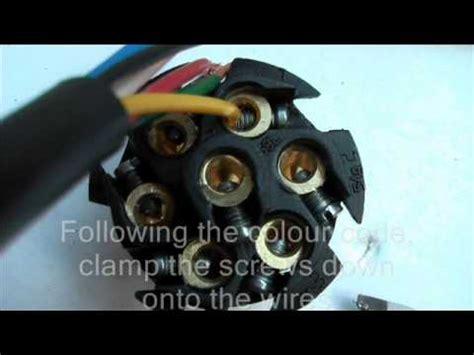 wire   pin trailer plug youtube