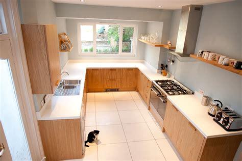 contemporary oak kitchen modern oak kitchens style best modern oak kitchens 2538