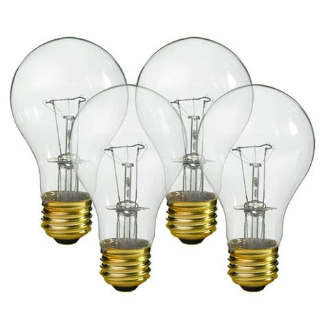 40 watt incandescent bulb 25 watt clear bulb 5000 hours halco 6318 3907