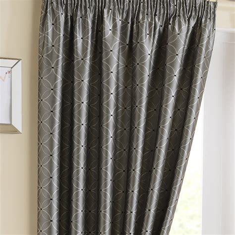 Blackout Curtain Lining For Eyelet Curtains by Tuscany Silver Pencil Pleat Curtains Pencil Pleat