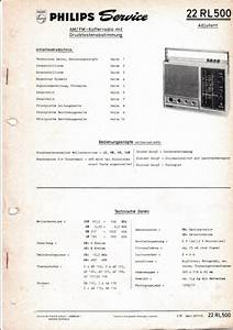 Service Manual Instructions For Philips 22 Rl 500