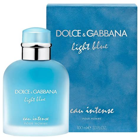 dolce and gabbana light blue 100ml price buy light blue eau intense men edp 100 ml by dolce