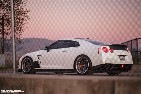 Get all of the details about the features and styling of this performance supercar. Work Hard, Play Hard // David's Nissan GTR. | StanceNation™ // Form > Function