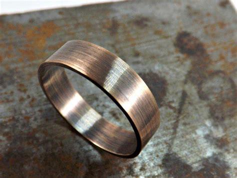 Elegant Bronze Ring Rustic Wedding Ring From Crazyass Jewelry