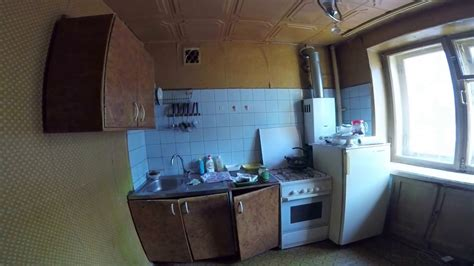 russian apartment  typical soviet working class flat
