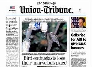 San Diego Union Tribune Display Advertising Rates