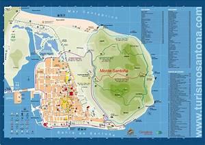 Mapa Turstico Santoa By Cantabria Turismo Issuu