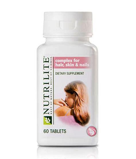 vitamins to help with hair amway hair skin nails 60 tab