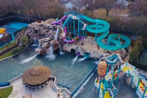 Backyard Water Park - 28 million dallas mansion comes with haunted water park