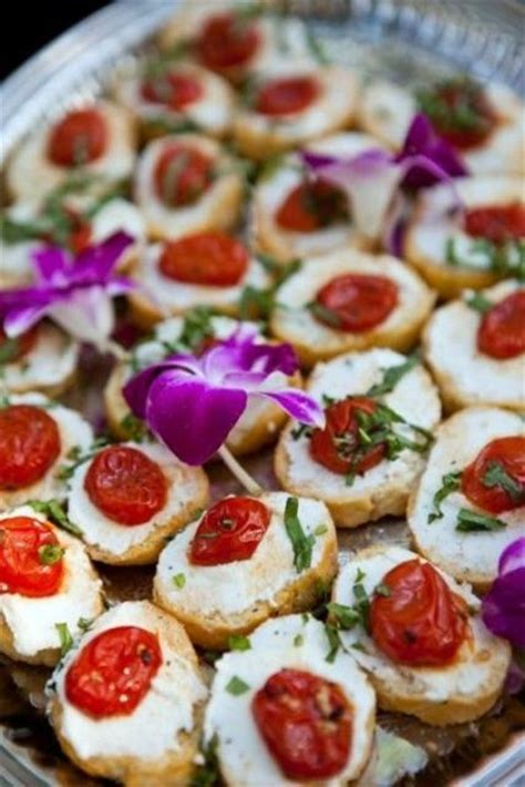 35 Super Tasty Fall Appetizers For Your Wedding Day