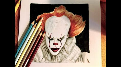 It (2017) Speed Drawing Timelapse