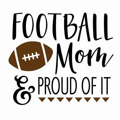 Football Svg Mom Vector Phrase Graphics Clipart