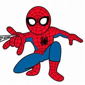 Baby Spider Man Cartoon Clipart