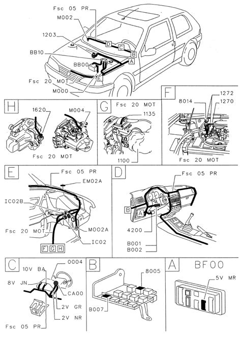 Peugeot 106 Wiring Diagram by Peugeot 106 Engine Type Tu1 Tu9 Tu32 Ignition System
