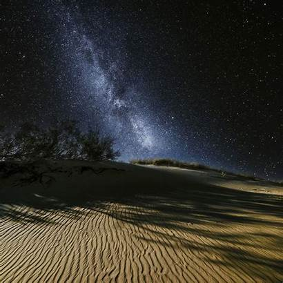Night Desert Dunes Sky 500px Starry Summertime