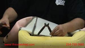 Leather Seat Cover Installation  Hog Ring Attachment Vs