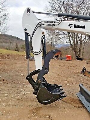 bobcat hydraulic mini excavator thumb pin  grapple clamp claw   xchange ebay