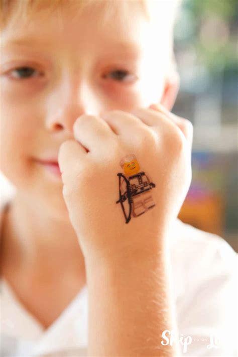 lego ninjago  tattoos skip   lou