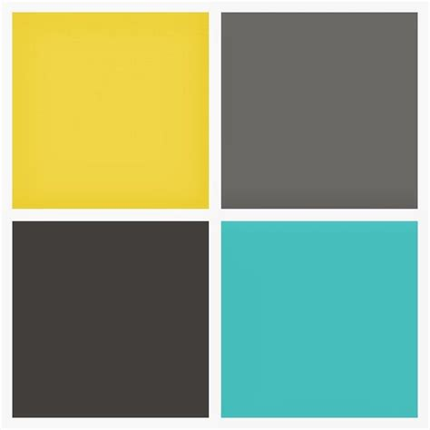 colors that go with yellow best 25 yellow gray turquoise ideas on yellow
