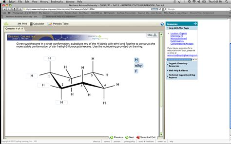 Chair Conformations Of Tetra Substituted Cyclohexane by Chemistry Archive October 03 2013 Chegg