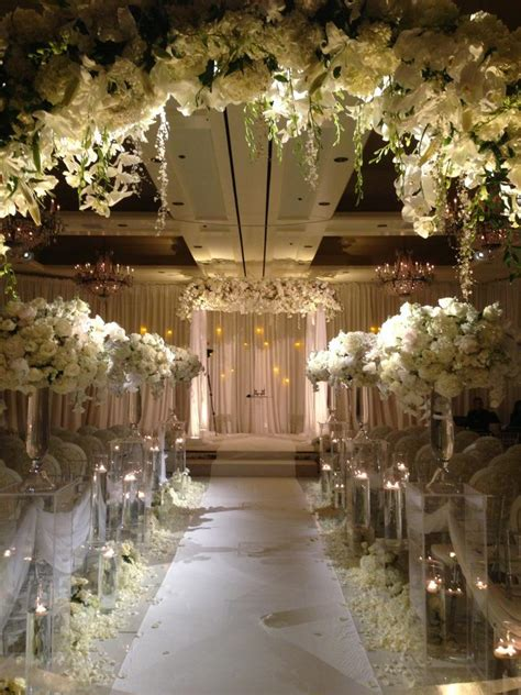 ceremony wedding weddings setting the style for a winter white ceremony evantine design