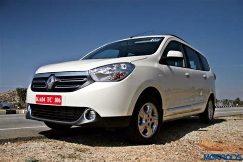 renault lodgy modified renault lodgy launching on the 9th of april 2015 motoroids