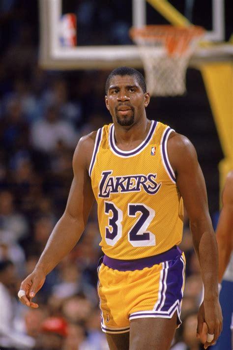 Magic Johnson - LA Lakers | Nba legends, Lakers basketball ...