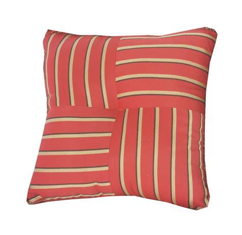 sunbrella outdoor pillows quilted throw pillow indoor outdoor 16 quot square sunbrella