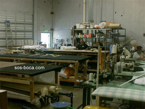 Upholstery Workroom inside the sos workroom sos boca raton upholstery