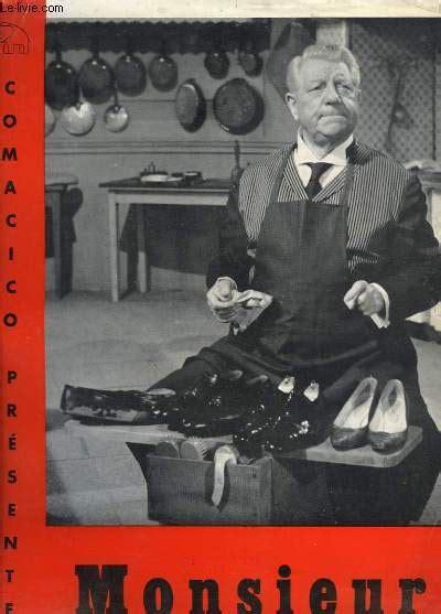 jean gabin vin brochure de pr 233 sentation du film monsieur de jean paul le