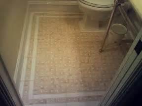 bathroom borders ideas tile bathroom floor with white border