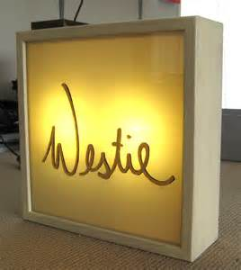 Custom Light Box Signs
