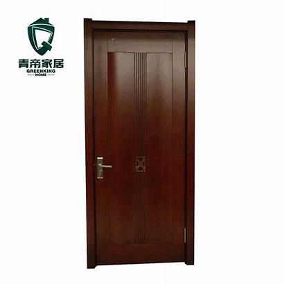Mdf Walnut European Doors Door Modern Composite