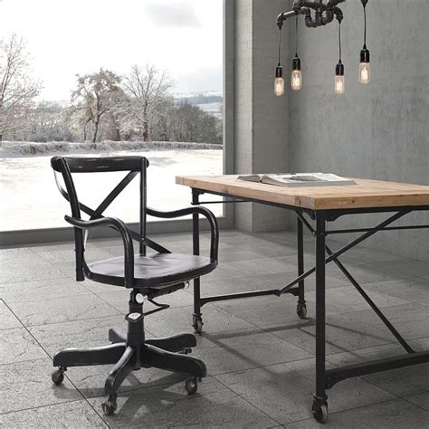 bureau industriel vintage 27 ingenious industrial home offices with modern flair