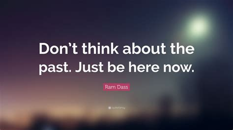 ram dass quote dont