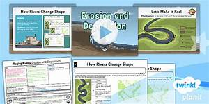 Erosion And Deposition In Rivers Lesson Plan 4